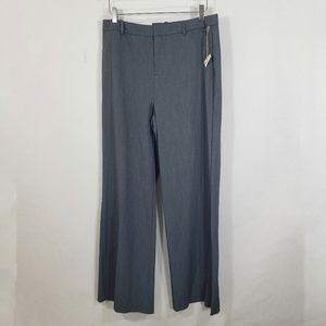 A New Day Gray Wide Leg High Rise Stretch Pants